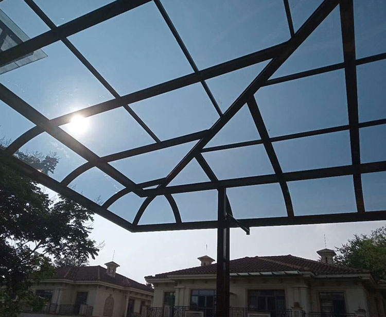 衡水书宇阳光板雨棚
