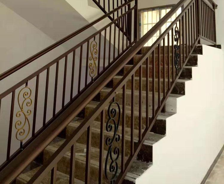 铝艺楼梯扶手2