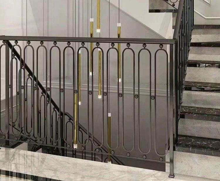铝艺楼梯扶手3