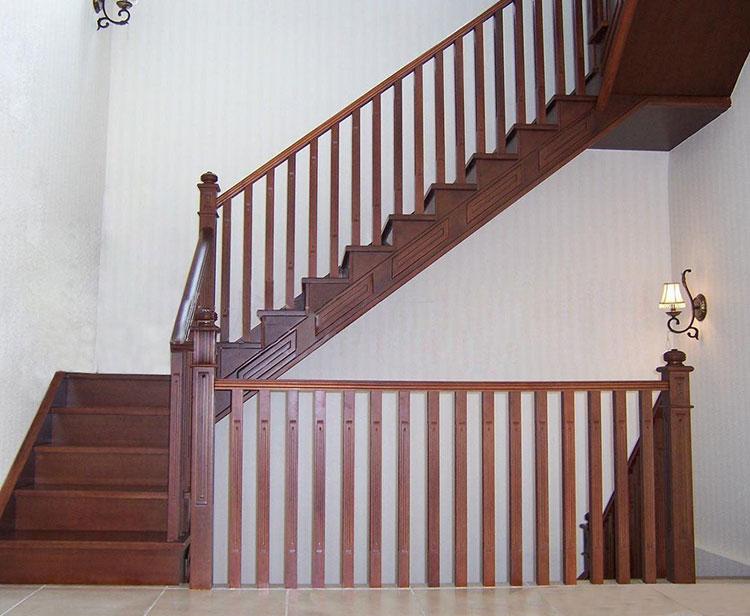 彩色不锈钢楼梯扶手