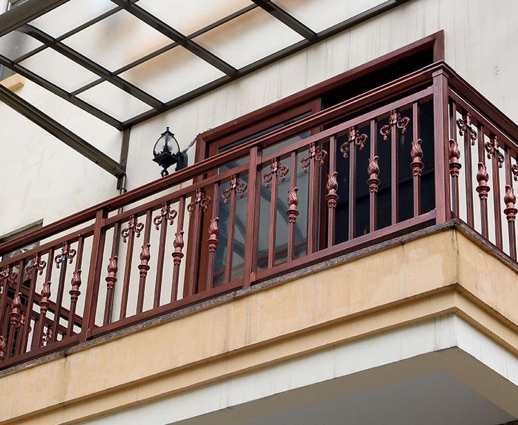 彩色不锈钢阳台护栏