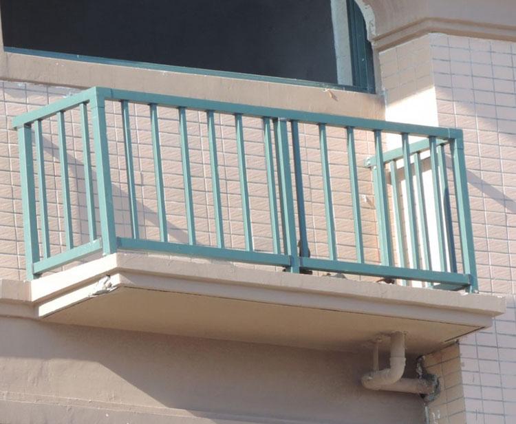 彩色不锈钢空调栏杆