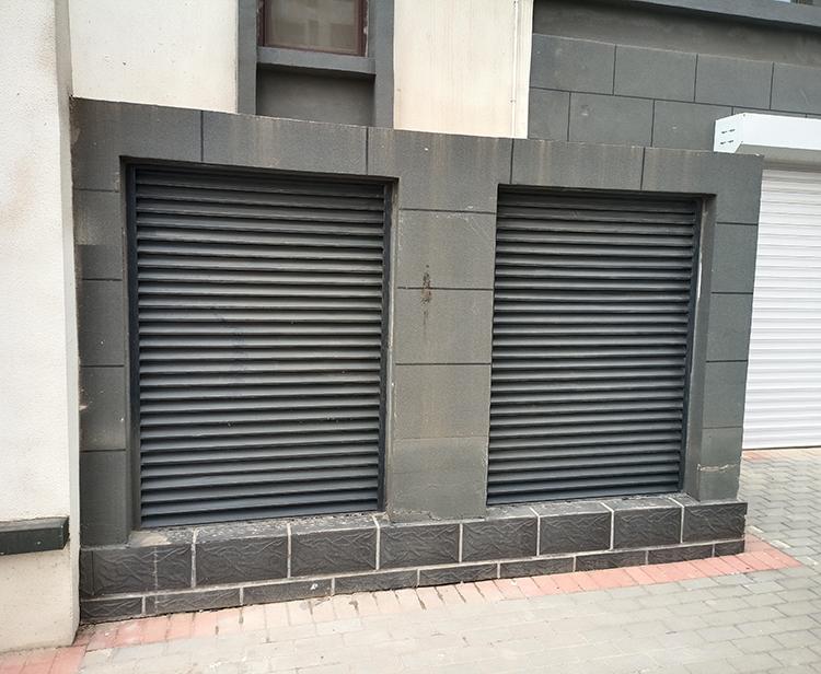 铝艺空调护栏实用案例