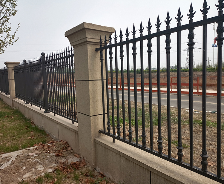 铝艺围墙栏杆实用案例